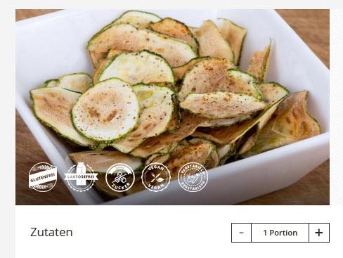Zucchini Chips von Gymondo 2